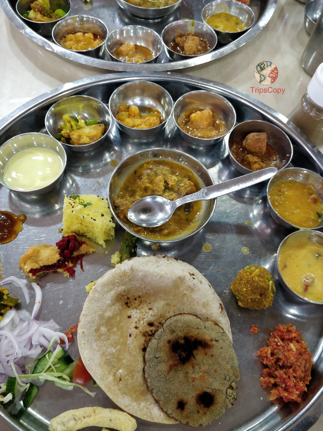 Jodhpuri Thali (full meal with 31 dishes)